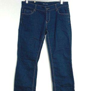 Prada Womens Regular Fit Jeans 30 EUC